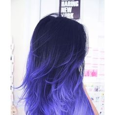 purple ombre hair | Hair colors ❤ liked on Polyvore featuring hair and hairstyles