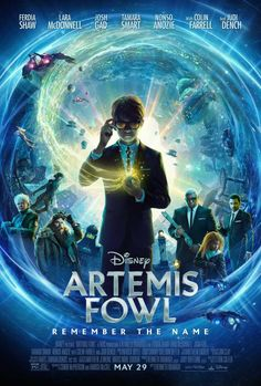 Disney's Artemis Fowl Adds Colin Farrell to the Cast As New Trailer and Poster Drops - IGN Artemis Fowl, Judi Dench, Colin Farrell, Scary Movies, Good Movies, Movies Free, Movie Trailers, Films Netflix, Film Vf
