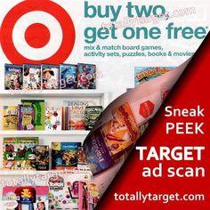 Sneak Peek Target Ad Scan for Week of 2/12 – 2/18
