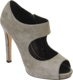 A grey heel is the must-have of this season. #styletips