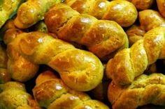 koulourakia_ΤΗΣ ΒΕΦΑΣ ΑΛΕΞΙΑΔΟΥ !!!!! Greek Cookies, Recipe Boards, Greek Recipes, Pretzel Bites, Potatoes, Bread, Vegetables, Food, Pasta