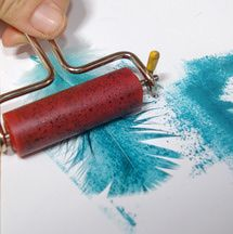 Print with a Feather to Produce Fantastic Images - Quick and Cheap!