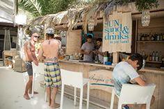 Beach bar in Ibiza