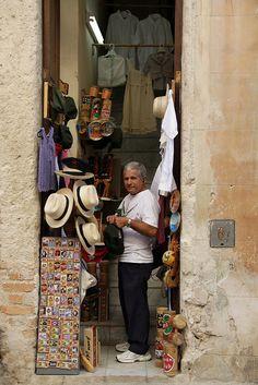 The Hat Man . Old Havana, Cuba