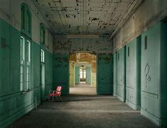 Another picture of Buffalo State Hospital from a wonderful book by Christopher Payne titled Abandoned Asylum.