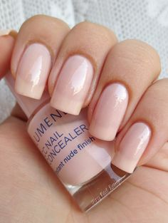 Perfect nail polish for a job interview? Lumene CC Nail Concealer is the one to choose if you ask blogger Anniina/Tiny Nail Design. #CC #nailpolish #lumene