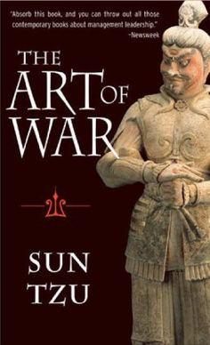 The Art of War by Sun Tzu, http://www.amazon.com/dp/1590302257/ref=cm_sw_r_pi_dp_1n.7sb07N0YFDZ7V
