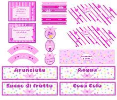 Kit stampabile per feste di compleanno Tema di NastrodiRaso, €8.00