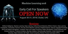 Special Discount on Registration charges. Register before 17th Feb'18 & avail special discount in Machine Learning 2018 Congress. Speech Recognition, Natural Language, Computer Vision, Deep Learning, Medical Science, Artificial Intelligence, Machine Learning, Conference, Dubai