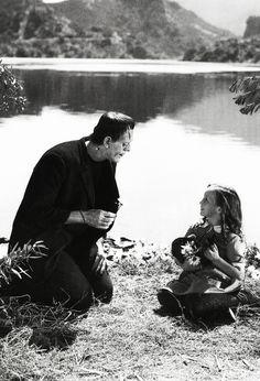 vintagegal:  Frankenstein (1931)