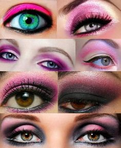 #Eyeshadow #Colorful