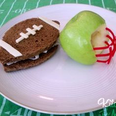 Football Snack. Maureen A Gonta DDS PC  - pediatric dentist in Corning, NY @ http://www.drgonta4kids.com