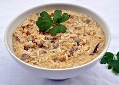 Risotto con vongole e carciofi, ricetta primo piatto facile, veloce, ottimo abbinamento mare terra, perfetto primo piatto light, senza burro, riso thai, light