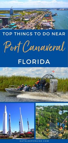 Serving as both an embarkation port and a port of call, we have just put together our list of the Top Things to Do Near Port Canaveral, Florida on a Cruise. #cruise #Florida #thingstodo #cruisetips #cruiseplanning #eatsleepcruise Cruise Florida, Bahamas Vacation, Florida Hotels, Cruise Port, Florida Travel, Travel Usa, Cruise Excursions, Cruise Destinations, Shore Excursions