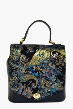 Geanta din piele naturala cu imprimeu baroc 188-B -  Ama Fashion Bags, Fashion, Handbags, Moda, Fashion Styles, Fashion Illustrations, Bag, Totes, Hand Bags
