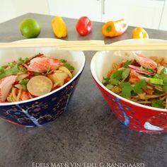 Edels Mat & Vin: Asiatisk nudelsalat med LobNobs !