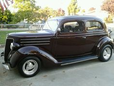 Rodger's 1936 Ford