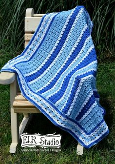 Southern Diamonds Baby Blanket