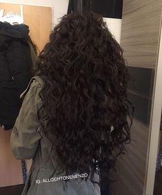 Curly Hair Tips, Long Curly Hair, Curly Hair Styles, Natural Hair Styles, Baddie Hairstyles, Pretty Hairstyles, Cabelo Inspo, Aesthetic Hair, Love Hair