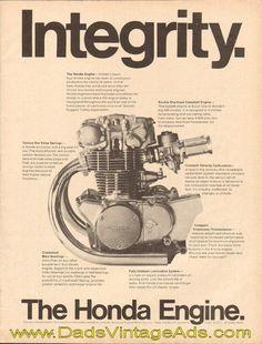 1968 Honda Motorcycle Engine – Integrity #SWEngines