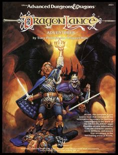Dragonlance Adventures (1e) - Wizards of the Coast | Dragonlance | AD&D 1st Ed. | AD&D 1st Ed. | DriveThruRPG.com