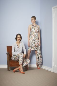 Floreal Mood Sonia Fortuna Spring Summer Collection 2014