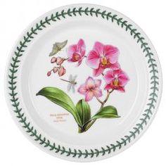 Portmeirion Botanic Garden Dinner Plate---Orchid