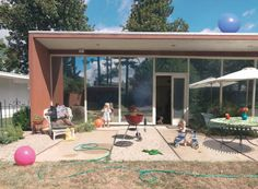 Julie Blackmon, Patio, from 'Domestic Vacations', 2010. Image courtesy of The Photographers' Gallery. Click above to see larger image.