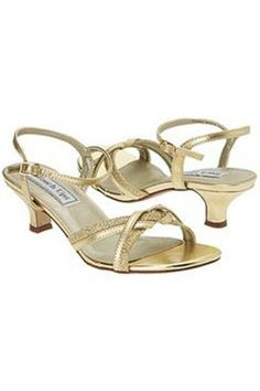 b11a1a2e3 Melanie Gold Shoe. Sydney s Closet. Wedge Dress ShoesGold Dress ShoesGold  ShoesDress SandalsProm ...