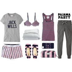 A fashion look from July 2015 featuring Jack Wills t-shirts, Jack Wills activewear pants and Jack Wills. Browse and shop related looks.