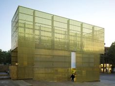 modulorbeat, Thorsten Arendt · Switch+ / Golden Pavilion For Sculpture Projects Muenster 07