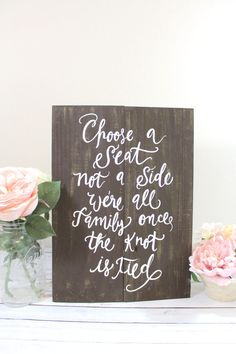 Rustic Wooden Wedding Seating Sign  Choose a by ThePaperWalrus, $49.99