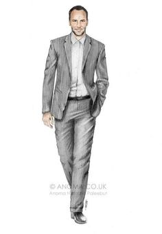 Men's fashion illustration  #fashion #men #illustration (mens - trendy)