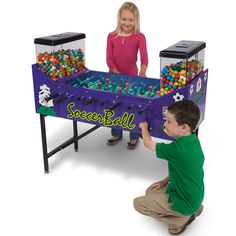 Prepare your kid to be the champ of foosball at their frat house!
