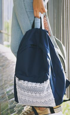 #DIY #Backpack #tutorial #school | Back to school