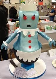 Very cool Jetsons cake!