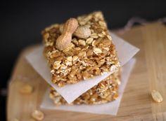 Healthy Peanut Butter Butterscotch Granola Squares - DWB
