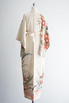 1940s kimono robe