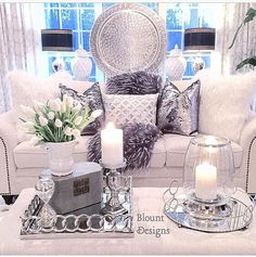 I spy my Celia Mermaid Pillows on sofa! Shop these pillows on my website! Talk about a touch of glam! Direct link in bio thank you for sharing how you styled the pillows Deborah! Tag me in my products for a chance to be featured! Glam Living Room, Home And Living, Living Room Decor, Glam Colorful Living Room, Living Rooms, Living Room Inspiration, Interior Design Inspiration, Home Decor Inspiration, Decor Ideas