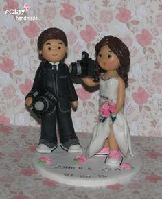 pilot flight attendant wedding cake toppers cake topper flight attendant computer programmer 18522