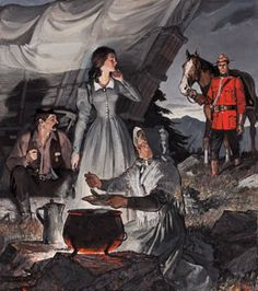 Tweed Museum of Art Canada Eh, Canadian History, Cowboy Art, True North, Country Art, Le Far West, Military Art, Horse Love, Vintage Travel Posters