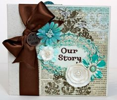 Mini Album Scrapbook by ArtsyAlbums on Etsy, $50.00