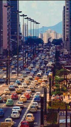 Av Paulista São Paulo Brasil ( 1981)
