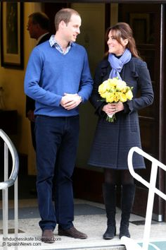 """Pregnancy 2012: Following a three night stay at the private facility, Kate left the hospital with William by her side at 10.45 a.m. on December 6 carrying a bouquet of flowers. The Duchess looked pale and delicate but said she was """"feeling much better"""" and returned to Kensington Palace for a period of rest."""