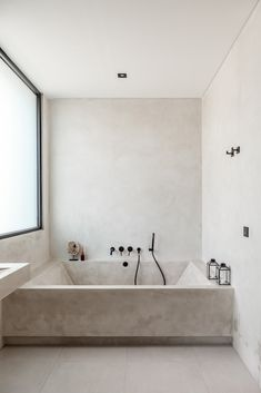 Bathroom Interior Design, Interior Decorating, Dream Home Design, House Design, Home Deco, Interior Architecture, Conceptual Architecture, Minimalist Bathroom Inspiration, Minimalist Bathroom Design