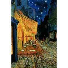 Cafe Terrace at Night (Van Gogh)