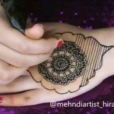 Very Simple Mehndi Designs, Pretty Henna Designs, Henna Tattoo Designs Simple, Finger Henna Designs, Back Hand Mehndi Designs, Mehndi Designs Book, Mehndi Designs For Girls, Mehndi Designs For Beginners, Mehndi Design Photos
