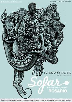 #Sofar session5 / Mayo 2015 #coordinación #producción #diseño #prensa