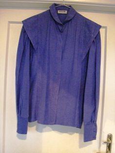 violette Bluse