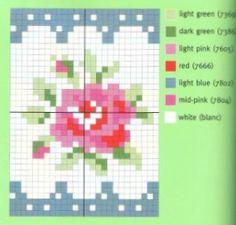 ★Cath Kidston needlework chart                                                                                                                                                      More